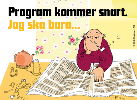 Illustration till Hemsidan Program kommer snart